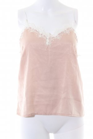 Camisole stoffig roze nude uitstraling