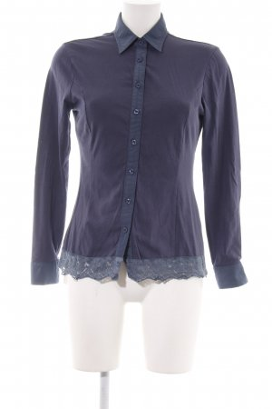 Camomilla Long Sleeve Blouse lilac-blue elegant