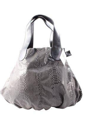 Camomilla Shopper grau-hellgrau Street-Fashion-Look