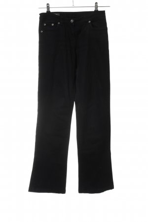 Camomilla Straight Leg Jeans black casual look
