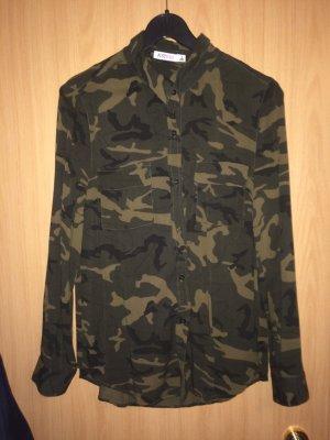 Camouflage Bluse JUSTFAB Größe M