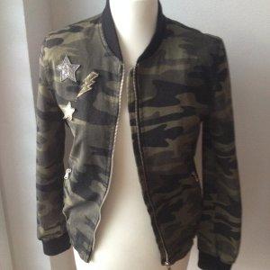 Camouflage Bomberjacke Zara Gr. S