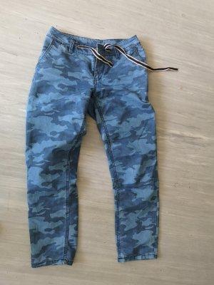 Pantalone chino multicolore
