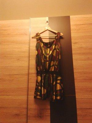 Camouflage-farbiges Minikleid