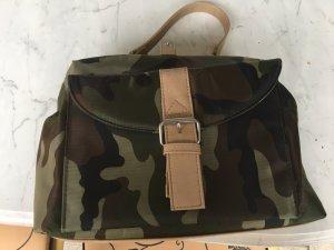Camouflage Handtasche mittelgroß