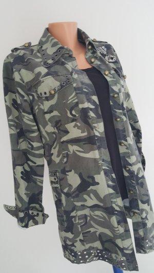 Camouflage Hemd-Bluse Gr. L