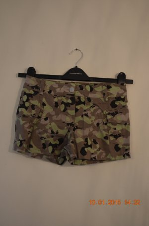 Camouflage-Hotpants/Shorts