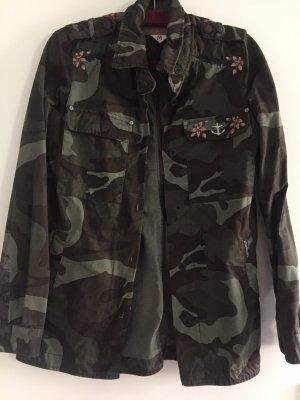 Camouflage Jacke Gr.M