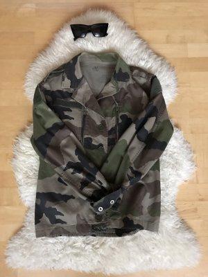 Camouflage Jacke leicht