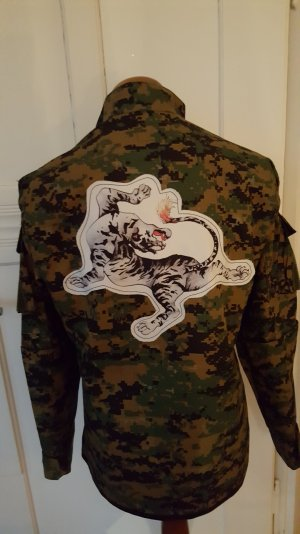 Camouflage Jacke personalisiert