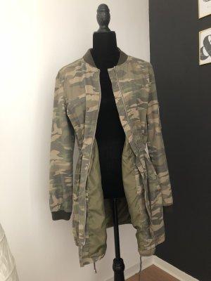 Camouflage Jacke S