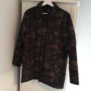 Camouflage Jacke von Dr Denim gesteppter Camo Parka Kurzmantel