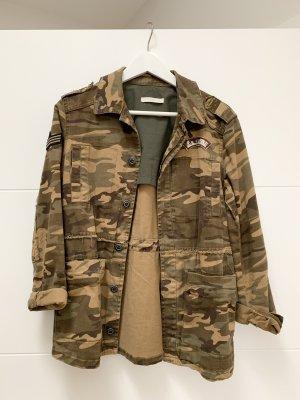 Camouflage Jacke von Mango, Größe: 36