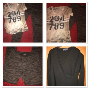 Camouflage Jeans 40 Pulli Shirt