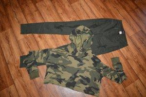 Camouflage Kapuzen Sweater Gr. 40 Neu