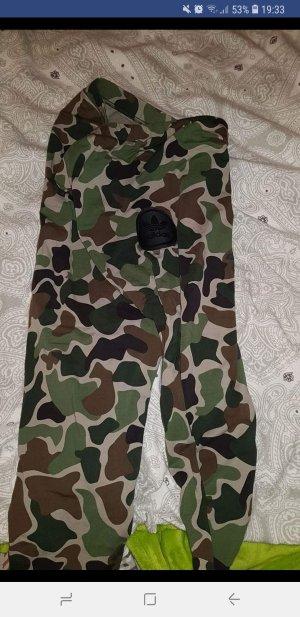 Adidas Legging zwart-khaki
