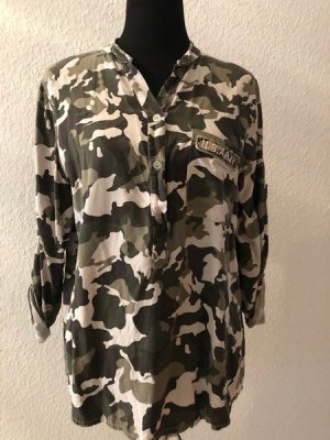 Camouflage Military Longbluse