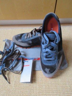 Camouflage Sneakers, Schnürsenkel austauschbar, Wildleder