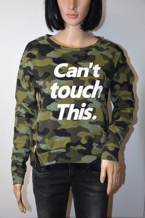 Camouflage-Sweater
