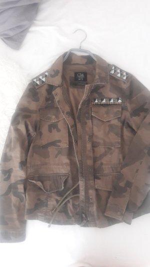 Camouflage Übergangsjacke