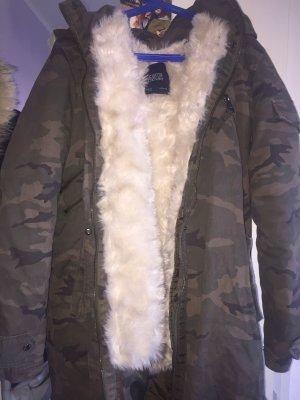Camouflage Winterjacke