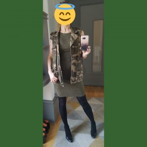 Camourflage Weste stylish