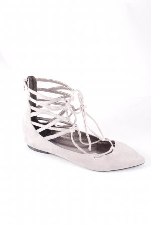 Campbell High-Heeled Sandals light grey classic style