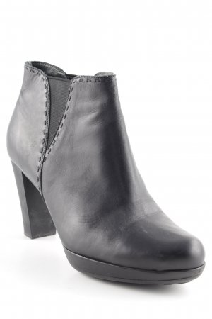 Camper Booties schwarz Street-Fashion-Look