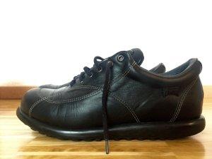 Camper Lace Shoes black leather