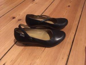 Camper Mary Jane Pumps black leather