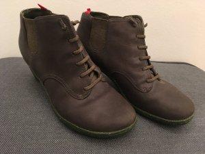 Camper High-Heels, Olivgrün, Größe 38