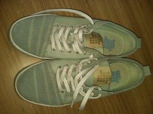 Camper Leder-Stoff Sneaker Mint, Gr.38