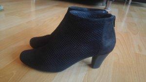 Camper Myriam, Damen Ankel Boots, Nubukleder, schwarz