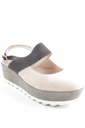 Camper Plateau-Sandalen Colourblocking Street-Fashion-Look