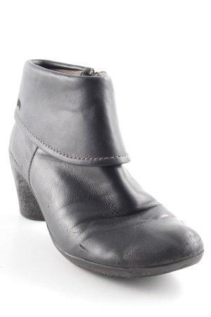 Camper Reißverschluss-Stiefeletten schwarz Casual-Look
