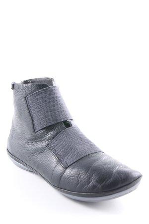 Camper Reißverschluss-Stiefeletten schwarz-dunkelgrau schlichter Stil