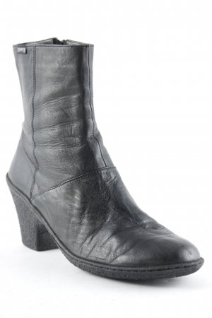 Camper Reißverschluss-Stiefeletten schwarz schlichter Stil