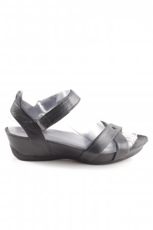 Camper Strapped Sandals black casual look