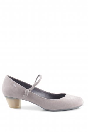 Camper Strapped pumps light grey casual look