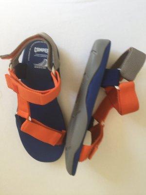 Camper Sandale d'extérieur bleu-orange fluo