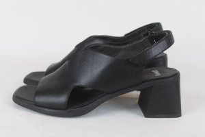 Camper Sandales noir cuir