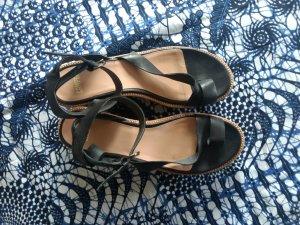 Camper Platform High-Heeled Sandal black