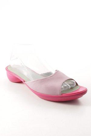 Camper Schlüpfschuhe rosa-pink Street-Fashion-Look