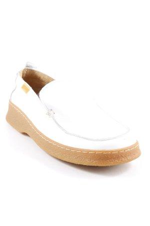 Camper Scarpa slip-on bianco-bianco sporco stile casual