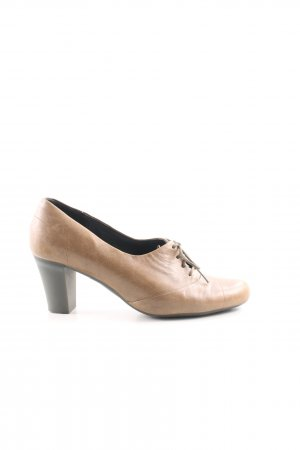 Camper Lace-up Pumps natural white-brown casual look