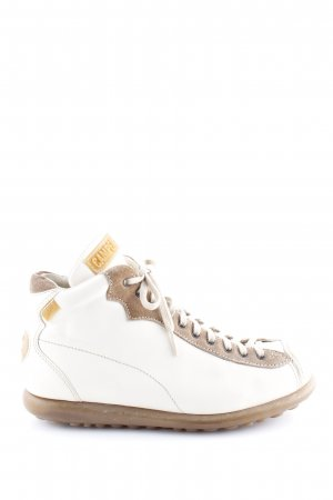 Camper Lace Shoes white-brown casual look