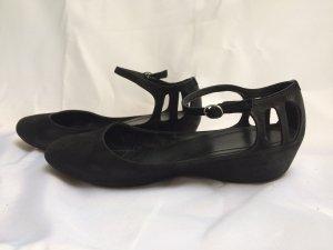 Camper - schwarze Ballerinas mit Cutout-Details