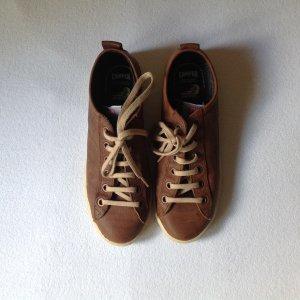 Camper Sneaker stringata marrone Pelle