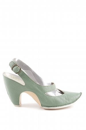 Camper Pointed Toe Pumps green extravagant style