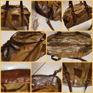 Campomaggi Designer Tasche BAG d.g. Leder Handmade Rindsleder W Neu Eur 569